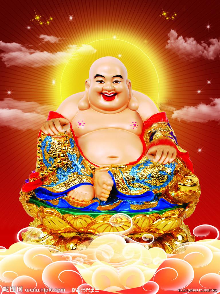 Hình tượng Phật Di Lặc cực đẹp