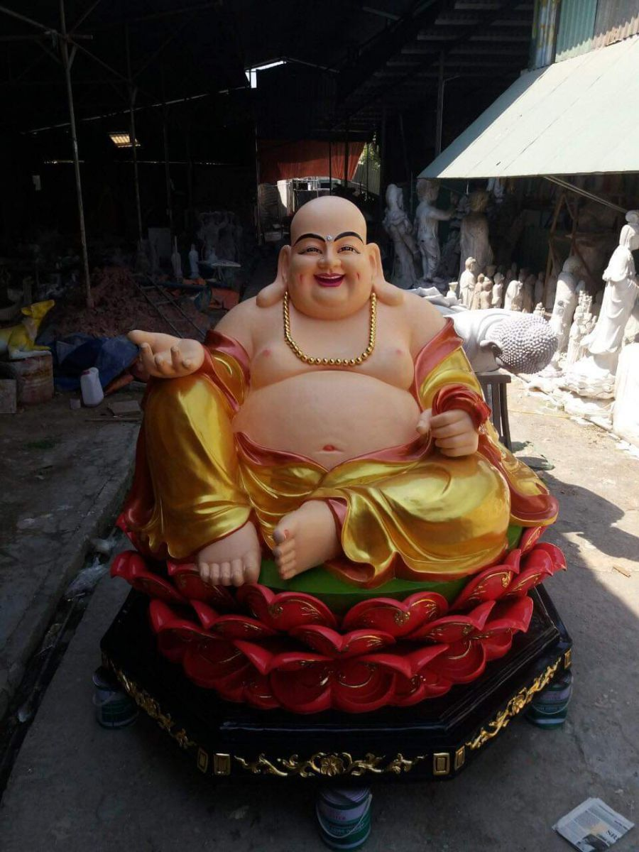 Hình tượng Phật Di Lặc mới làm