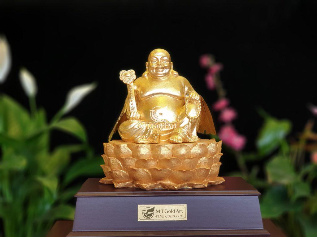 Hình tượng vàng Phật Di Lặc