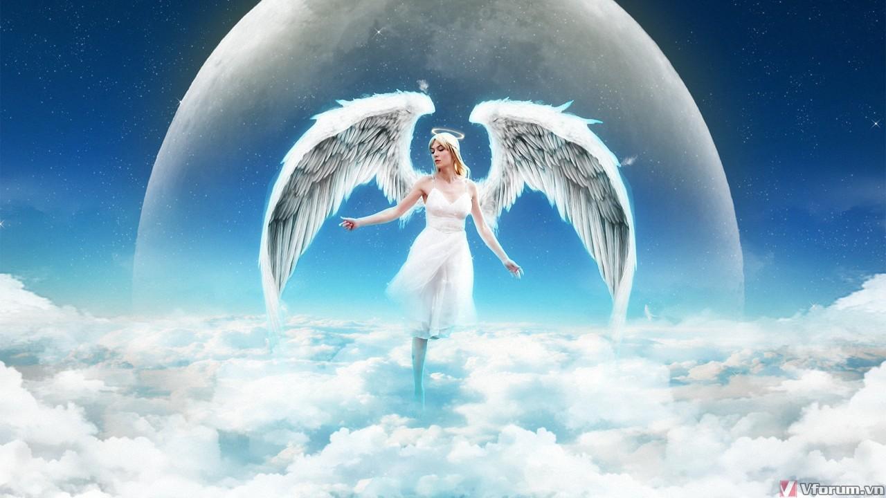 Thiên thần bay trên trười