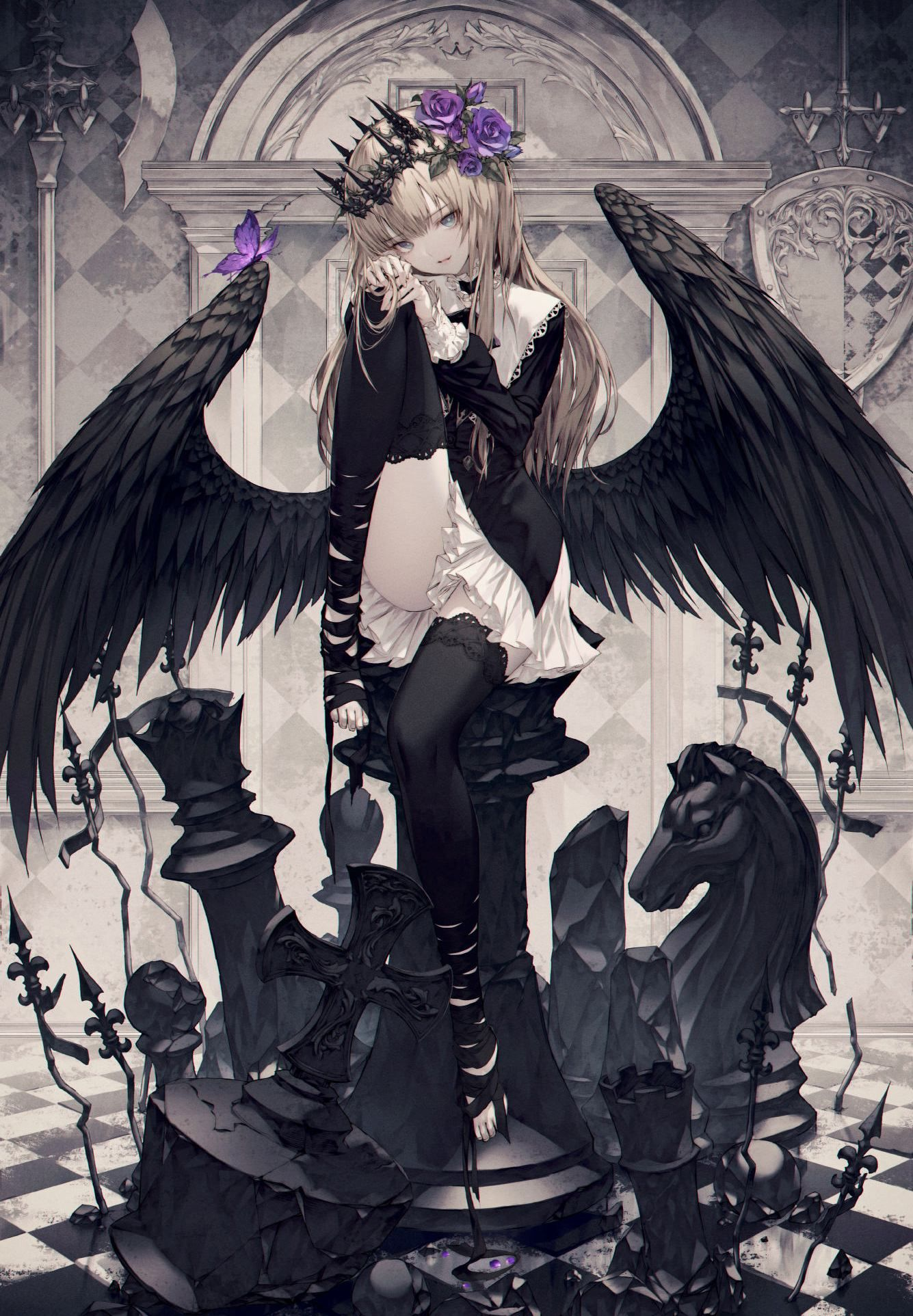 Thiên thần sa đọa cánh đen
