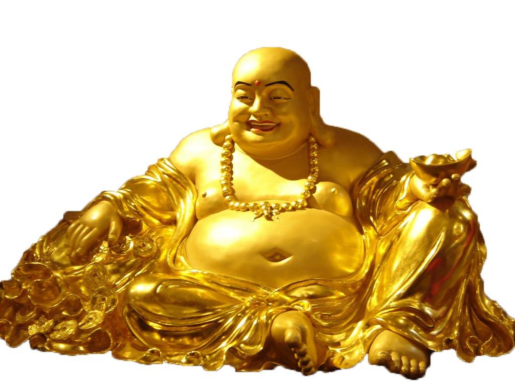 Tượng vàng Phật Di Lặc