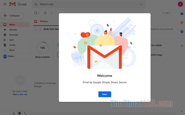 Cách đổi tên Gmail nhanh chóng