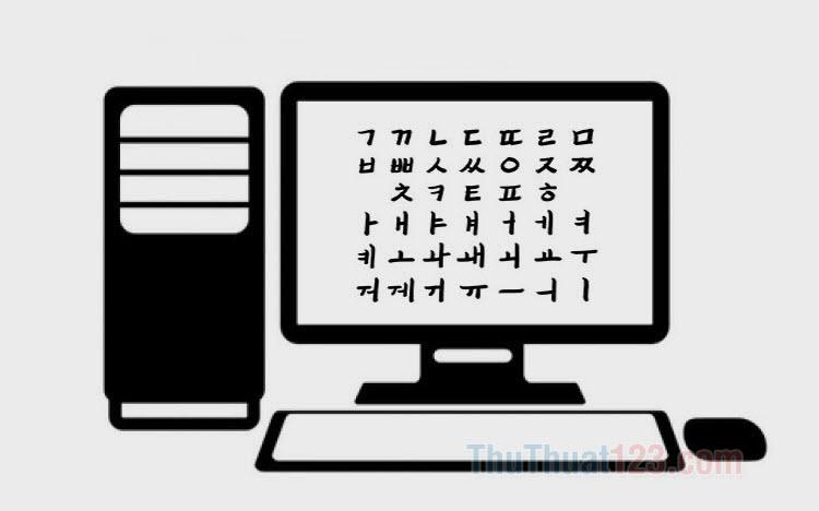 Bộ Font tiếng Hàn đầy đủ cho máy tính