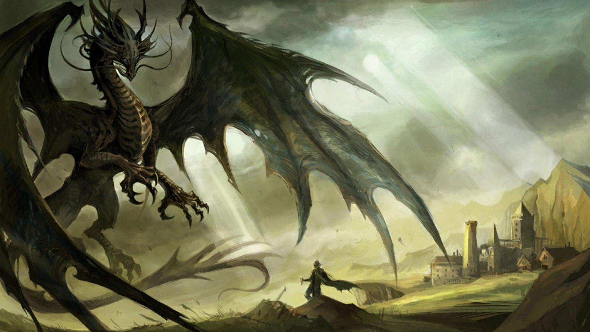 Hình nền rồng truyền thuyết