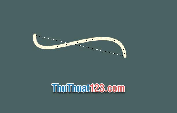 Bấm tổ hợp phím Ctrl Enter để tắt đường vector và giữ lại stroke