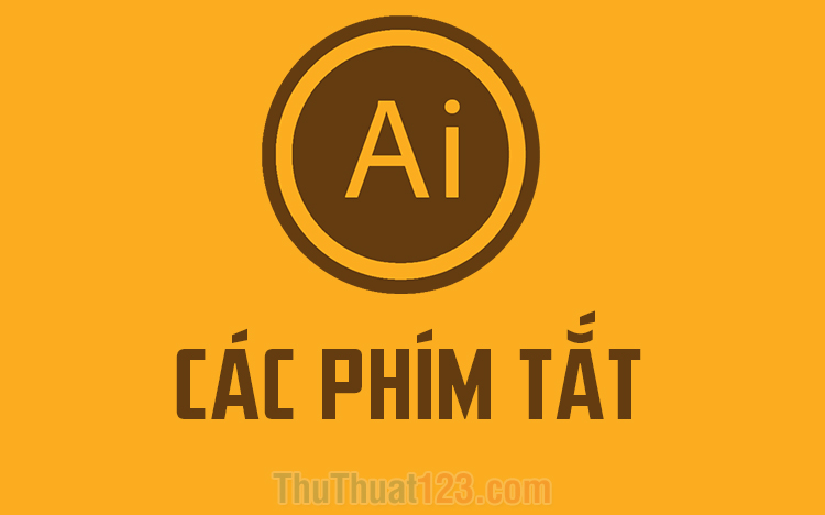 Phím tắt trong AI (Adobe Illustrator)