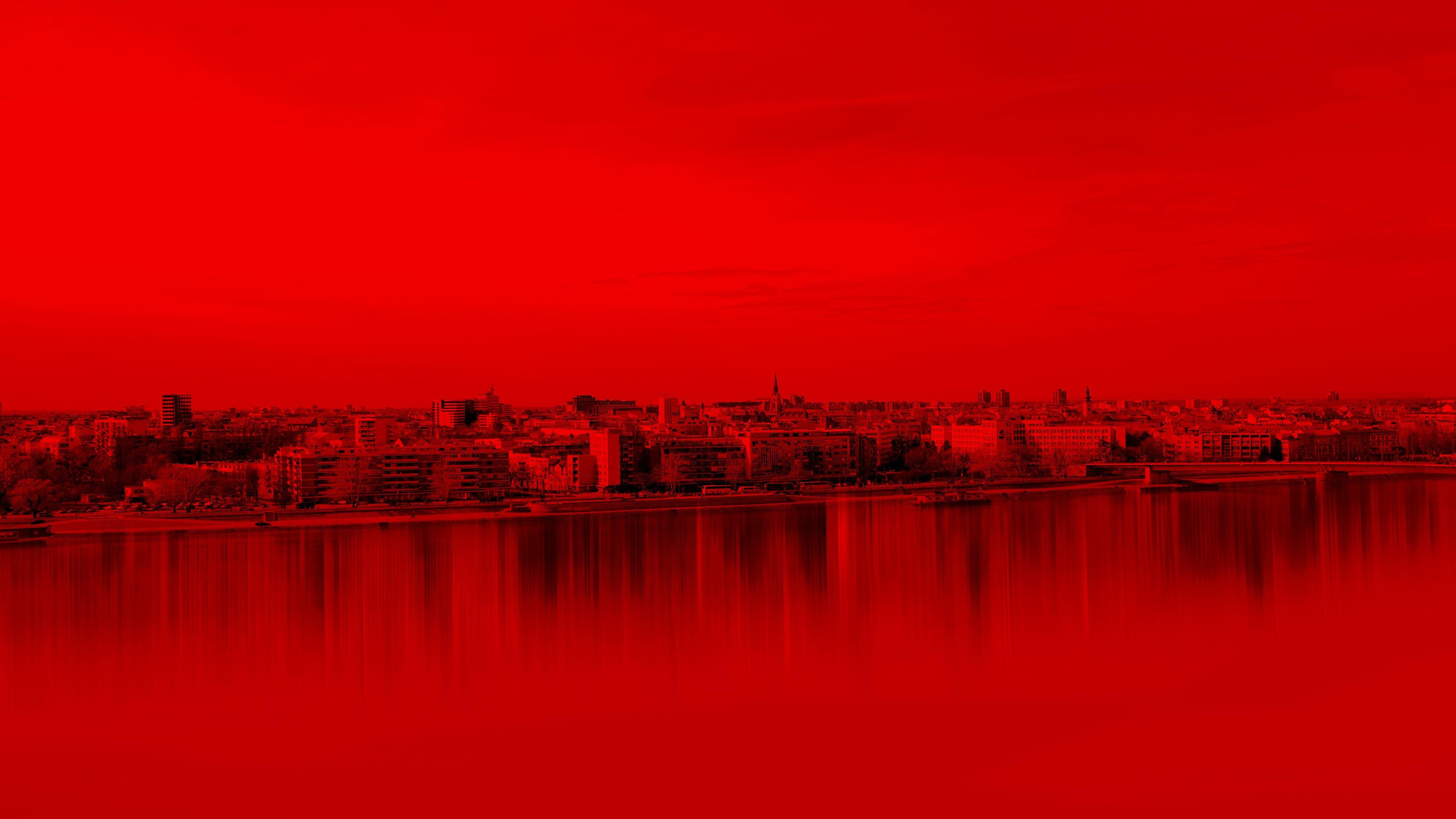 Ảnh nền màu đỏ buồn