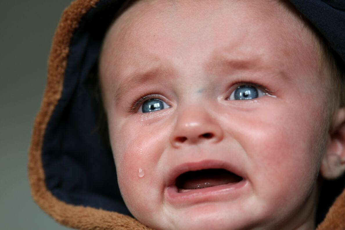Hình ảnh trẻ con khóc