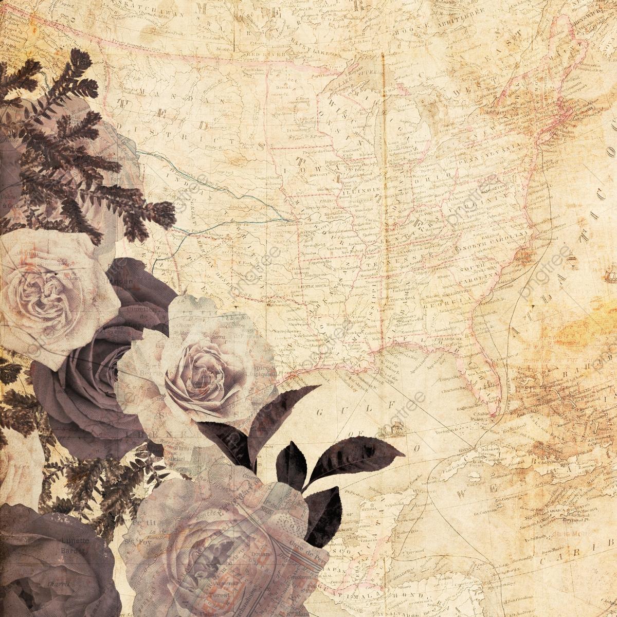 Hình background vintage hoa hồng đẹp