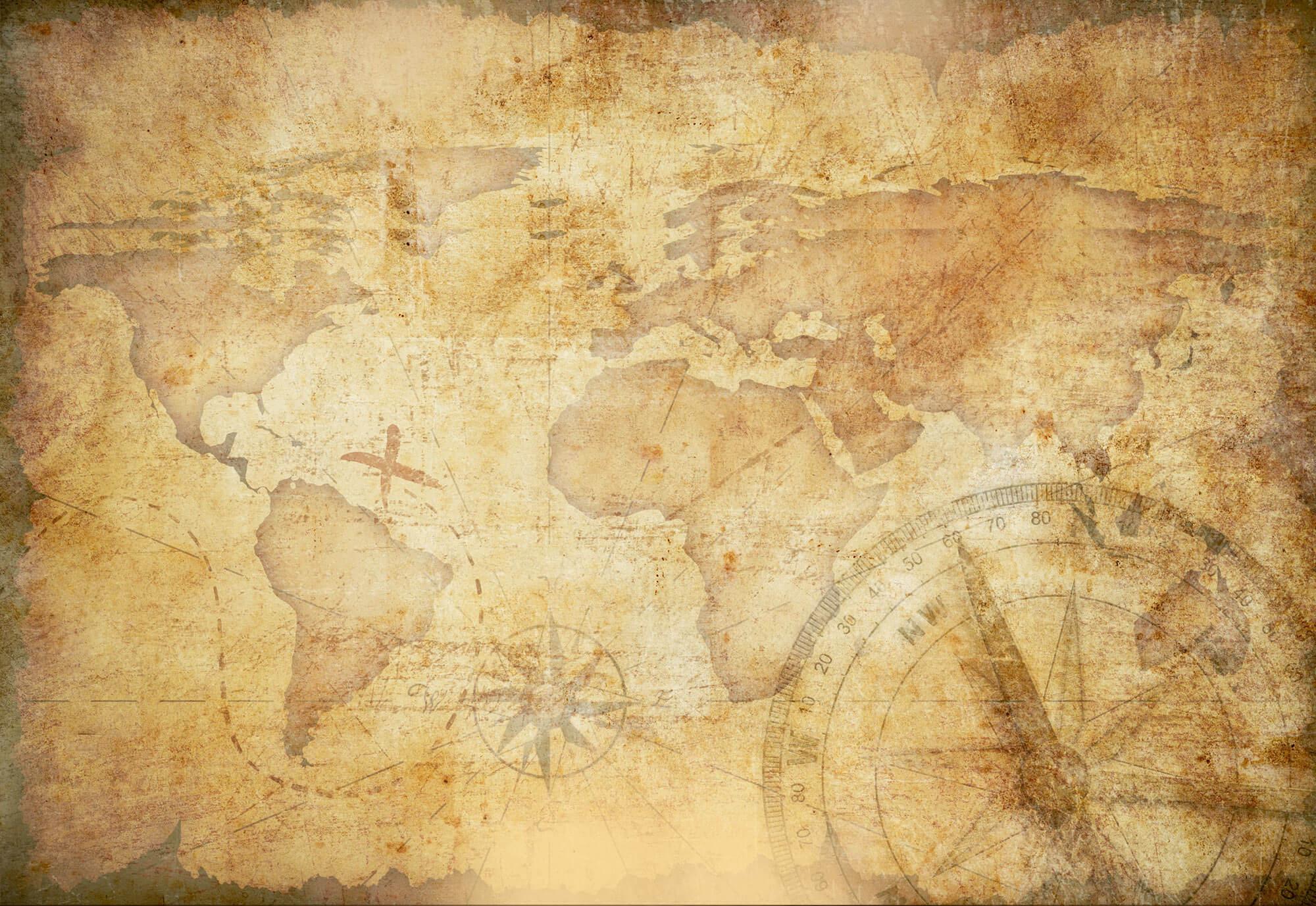 Hình nền powerpoint lịch sử bản đồ cũ