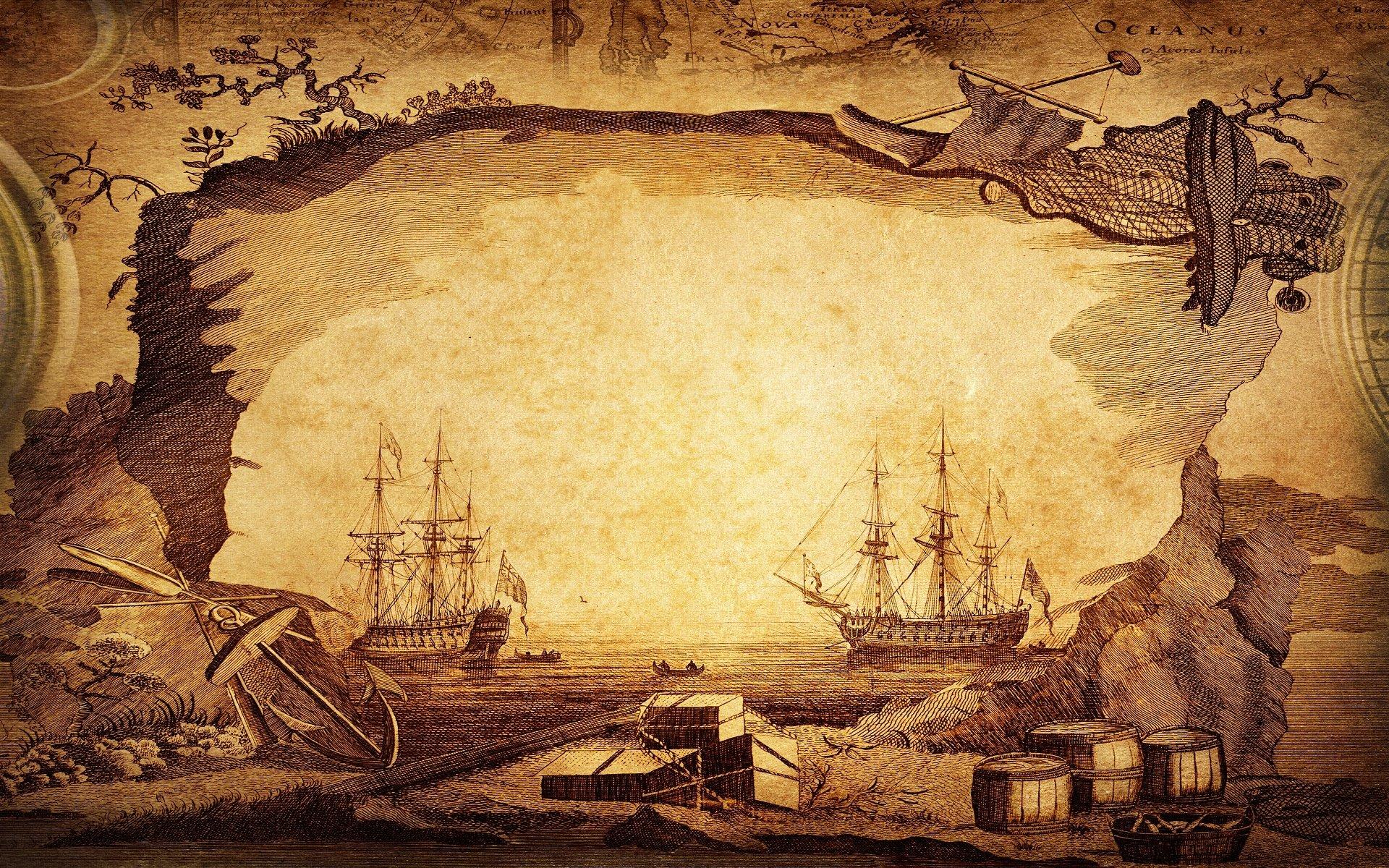 Hình nền powerpoint lịch sử bến cảng và thuyền