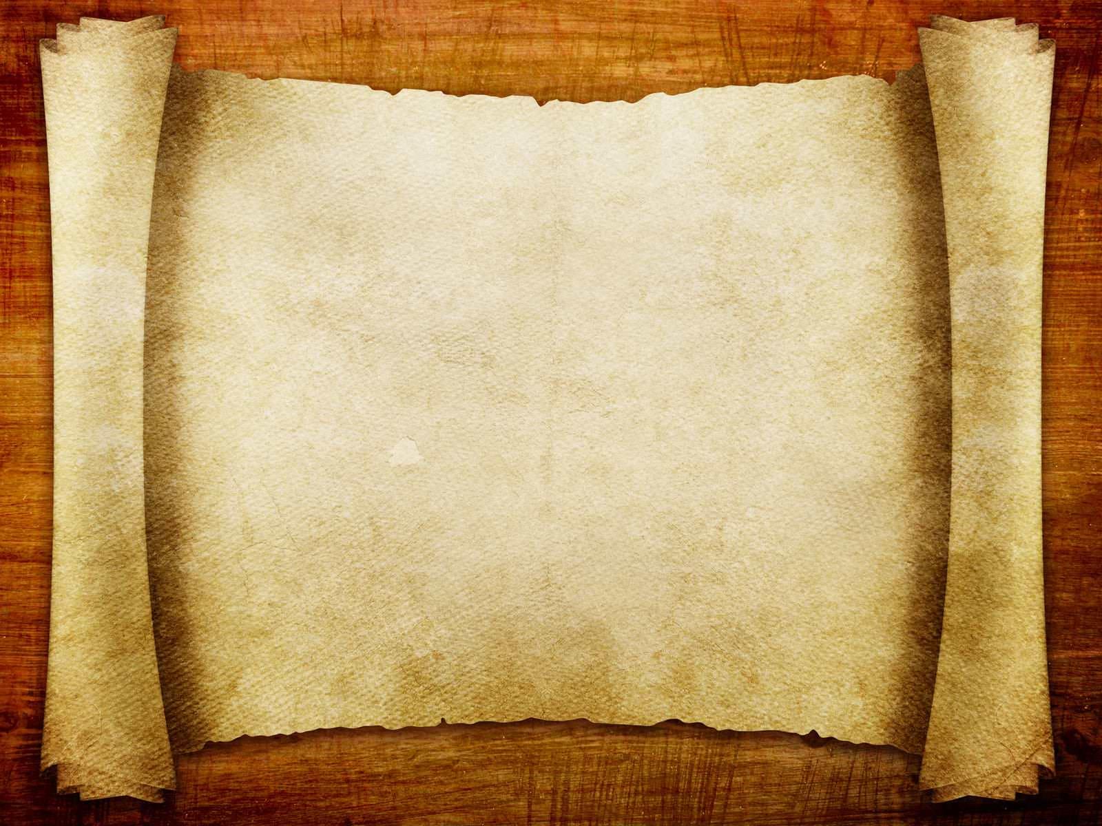Hình nền powerpoint lịch sử cuộn giấy cũ