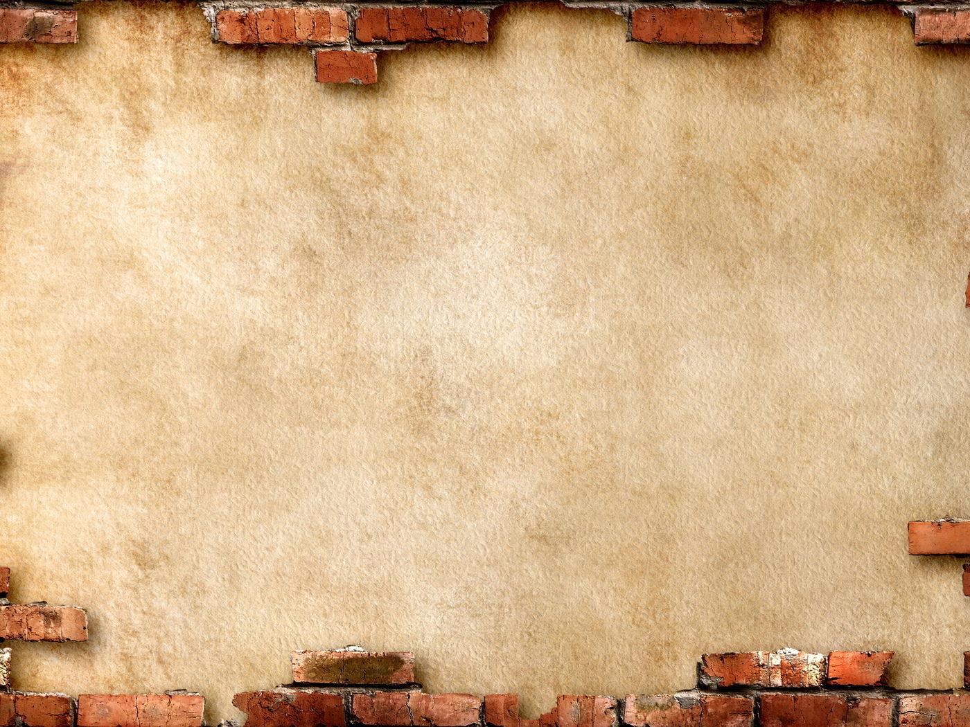 Hình nền powerpoint lịch sử tường gạch