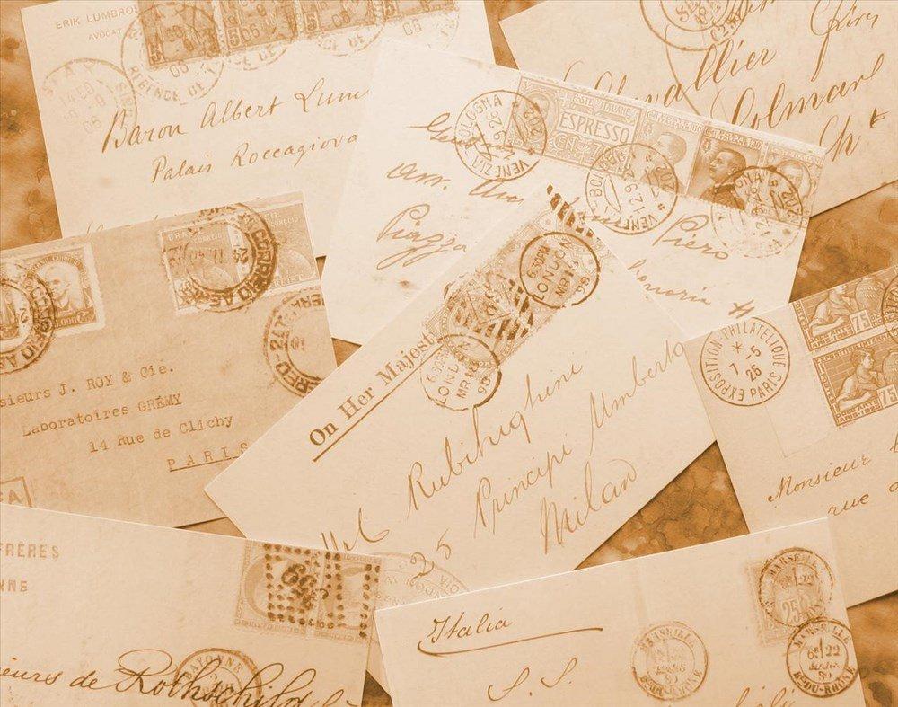 Hình nền powerpoint những bức thư