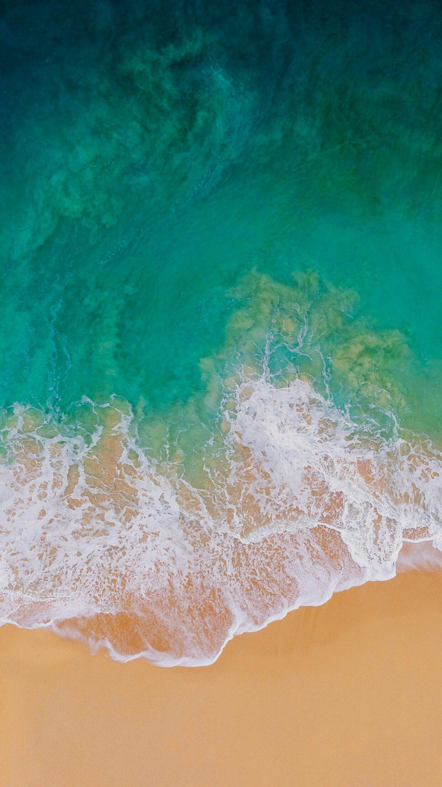 Hình nền Samsung bờ biển sóng vỗ