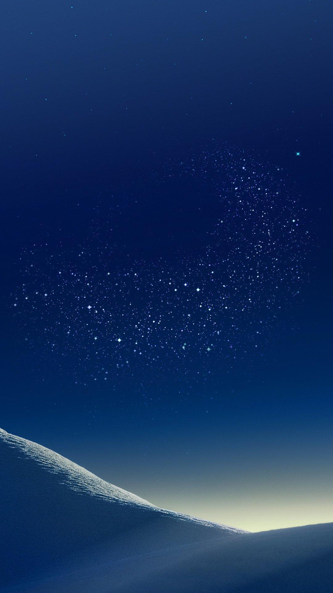 Hình nền Samsung đêm trên hoang mạc