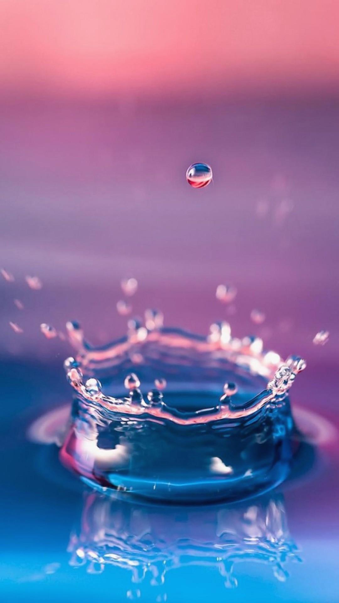 Hình nèn Samsung giọt nước bắn lên cực đẹp
