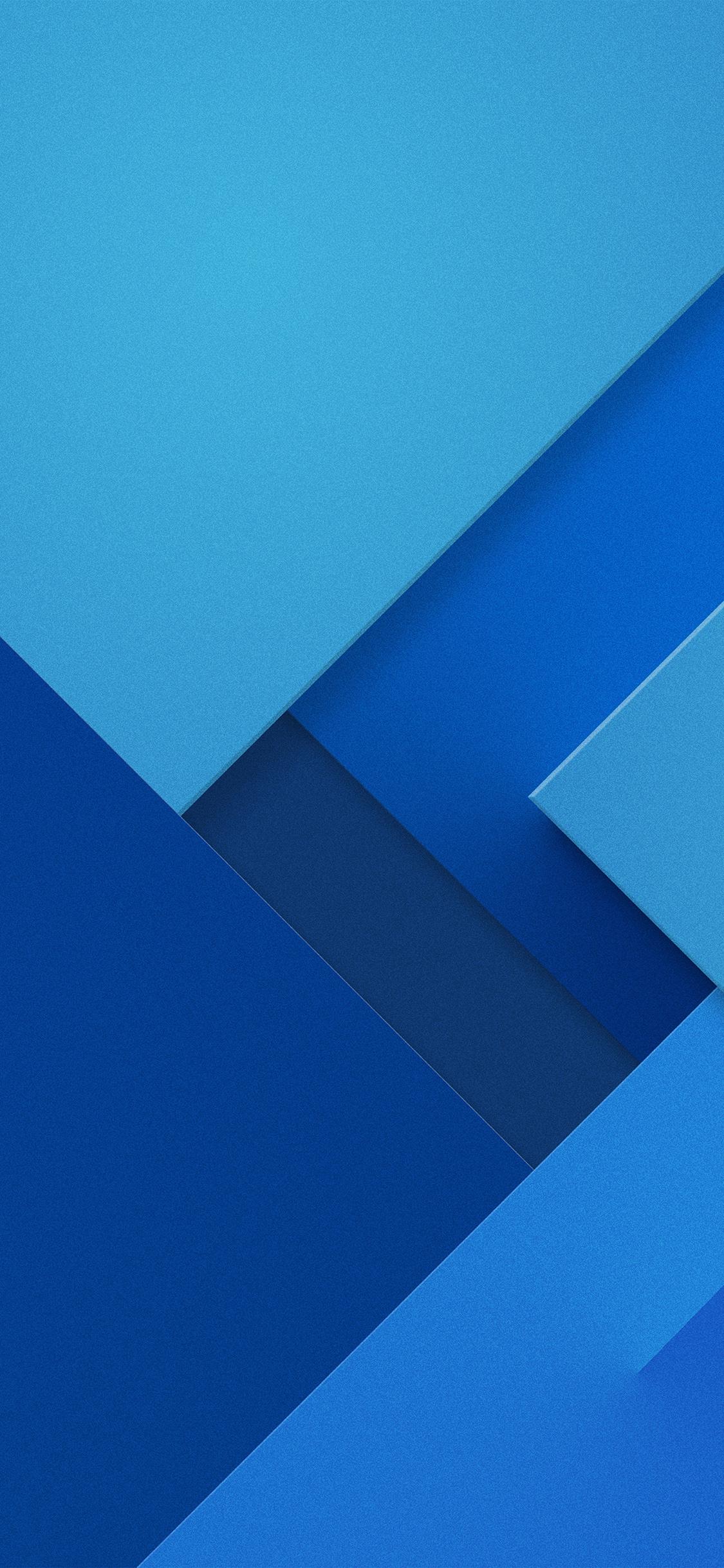 Hình nền Samsung không gian góc cạnh màu xanh
