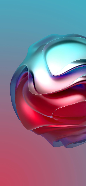 Hình nền Samsung quả bóng xoắn
