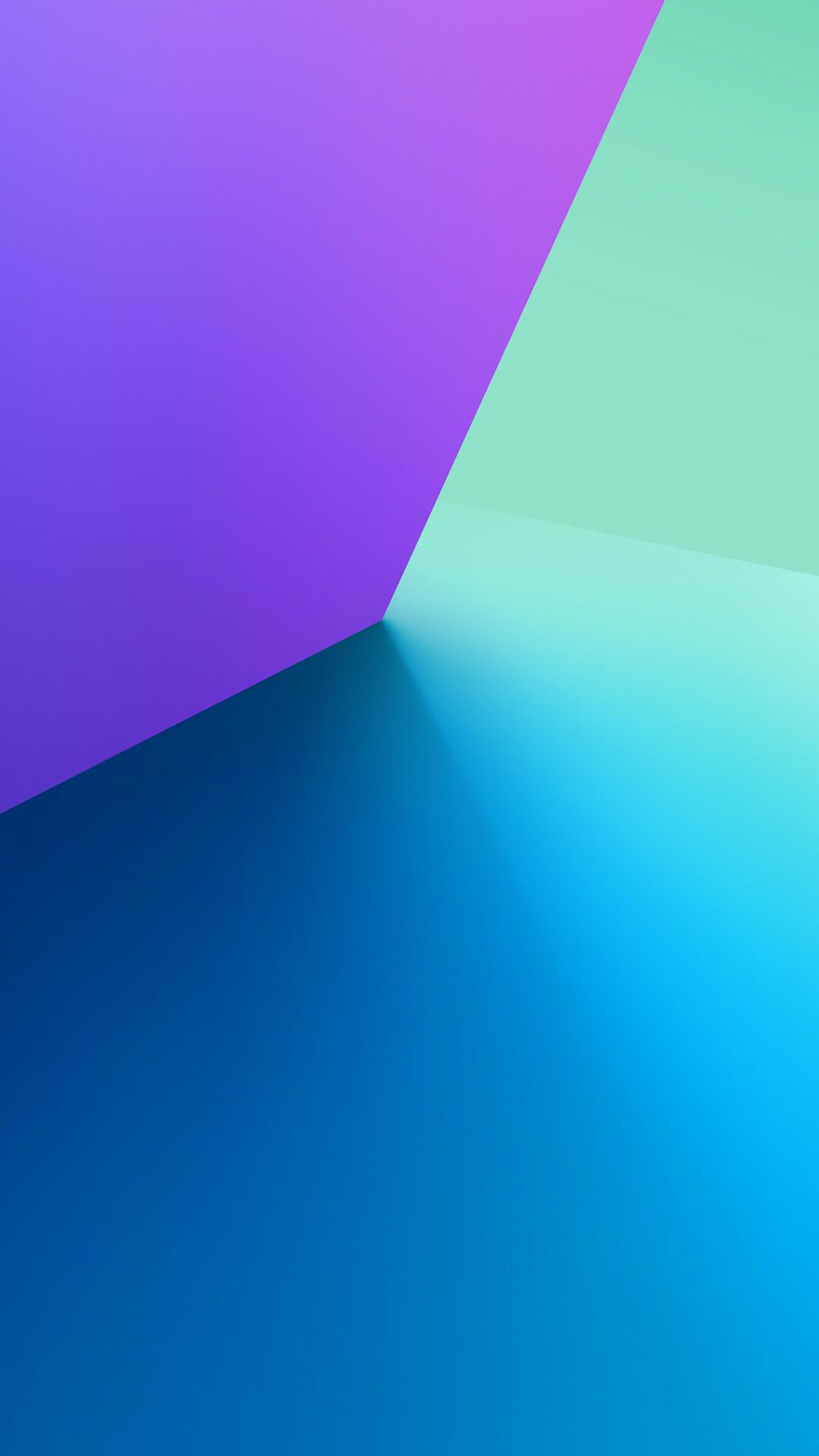 Hình nền Samsung tạo lập không gian bằng màu sắc