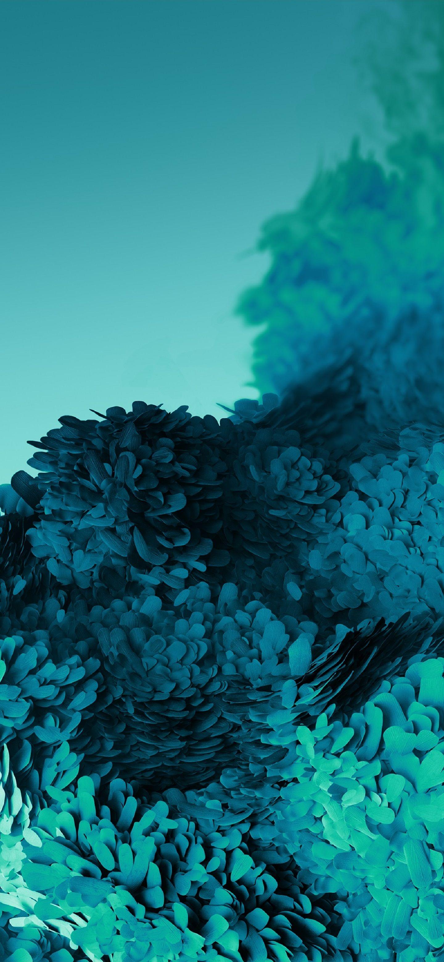 Hình nền Samsung vẩy xanh cực đẹp cực xinh