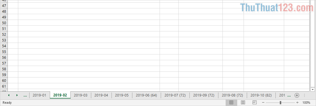 Tách bớt Sheet trong Excel