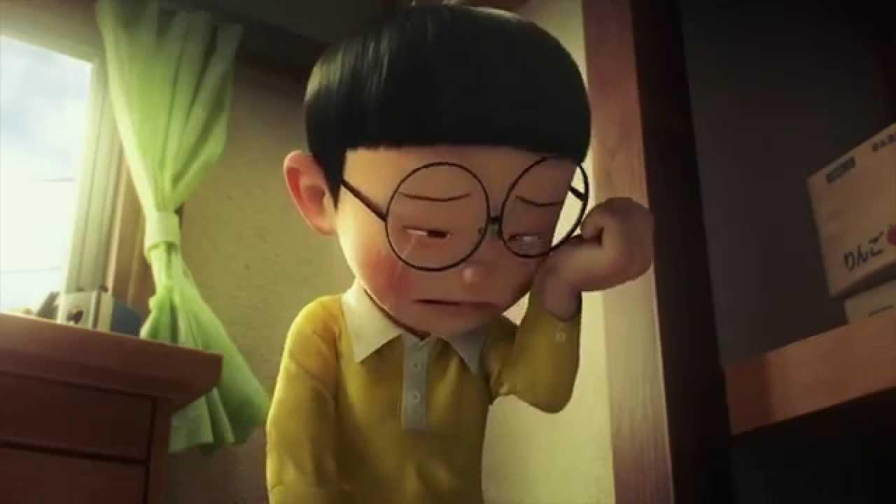 Ảnh 3D Nobita buồn khóc