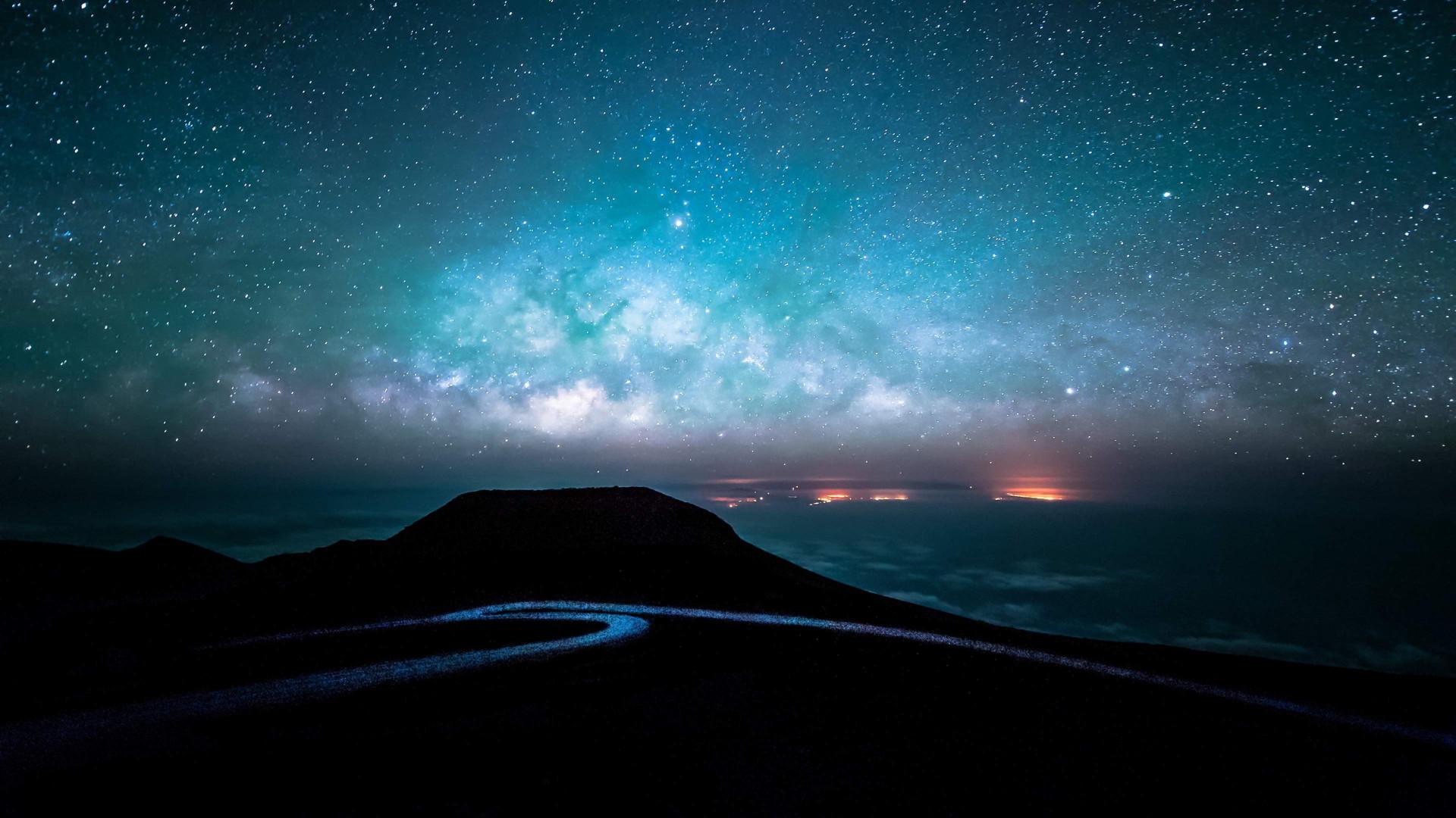 Ảnh bầu trời đêm đầy sao đẹp lung linh