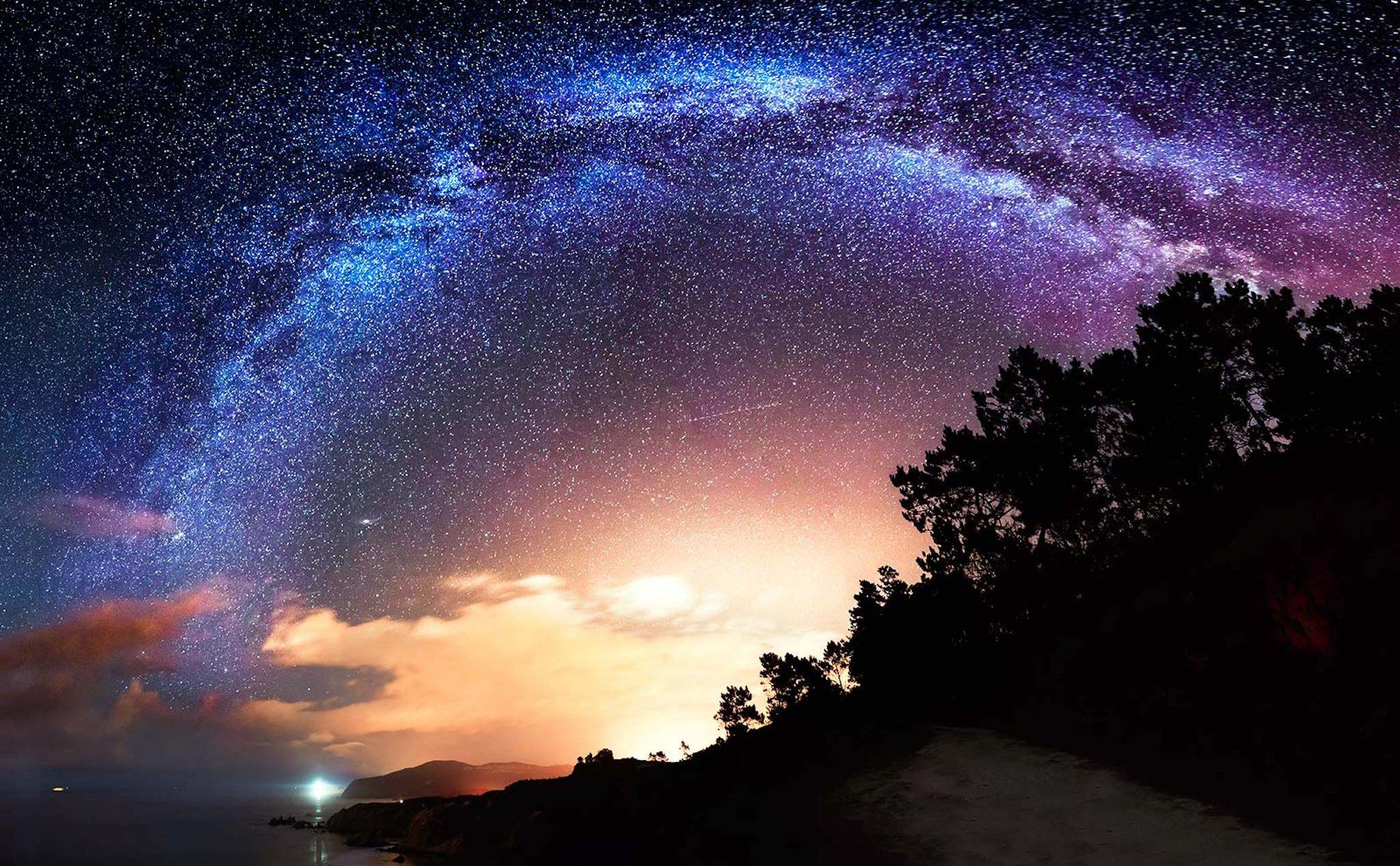 Ảnh bầu trời đêm lung linh huyền ảo nhất