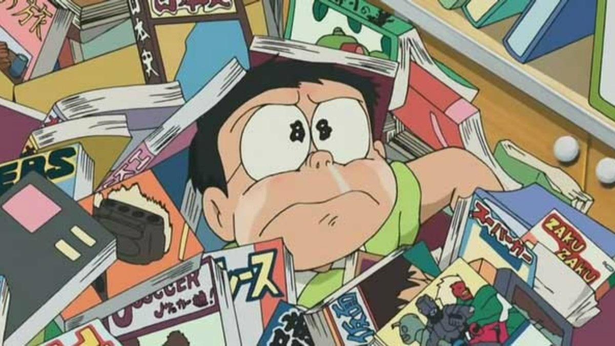 Ảnh khuôn mặt Nobita khi buồn