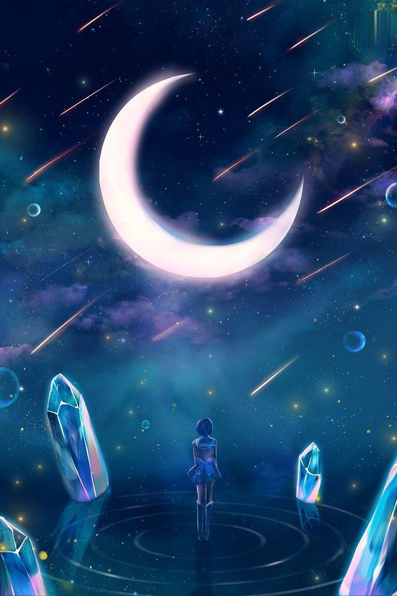 Ảnh mặt trăng anime