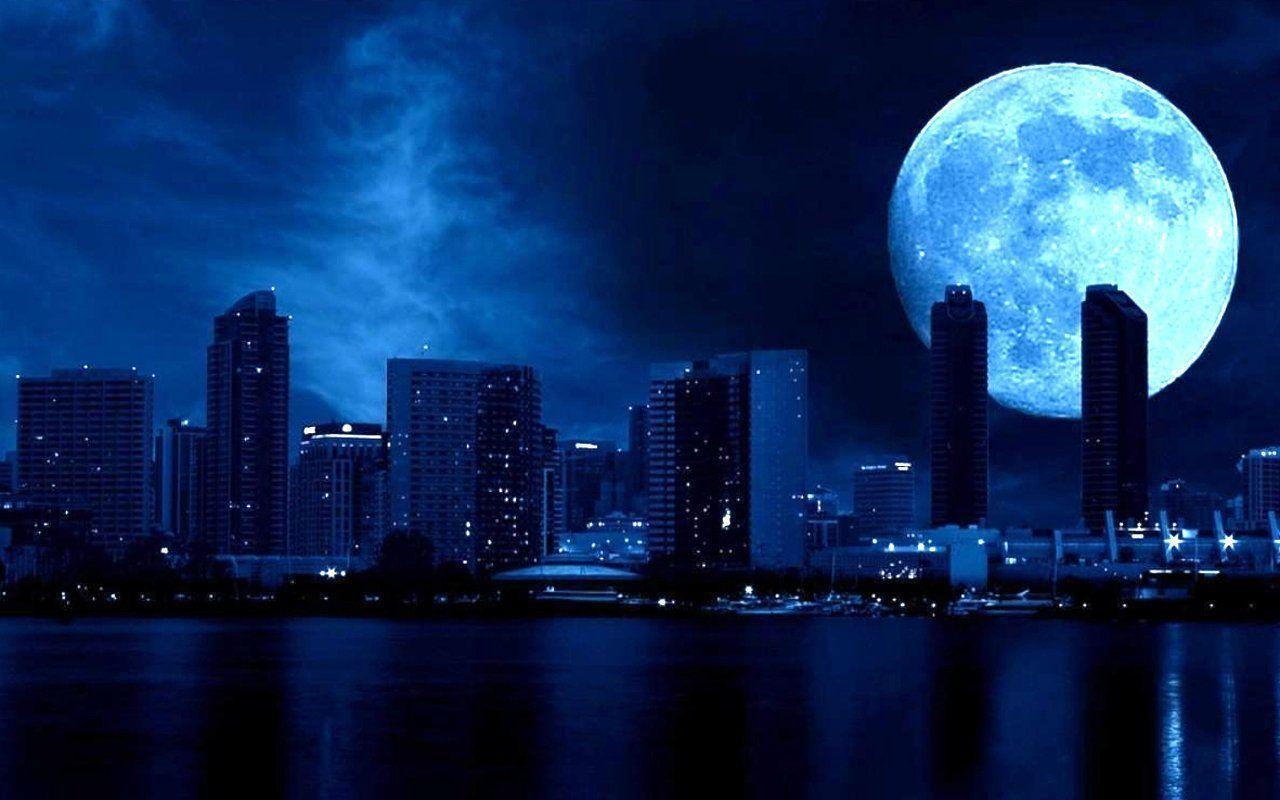 Ảnh mặt trăng đẹp