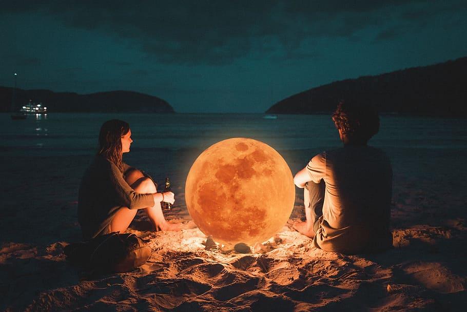 Ảnh mặt trăng độc đáo và đẹp nhất