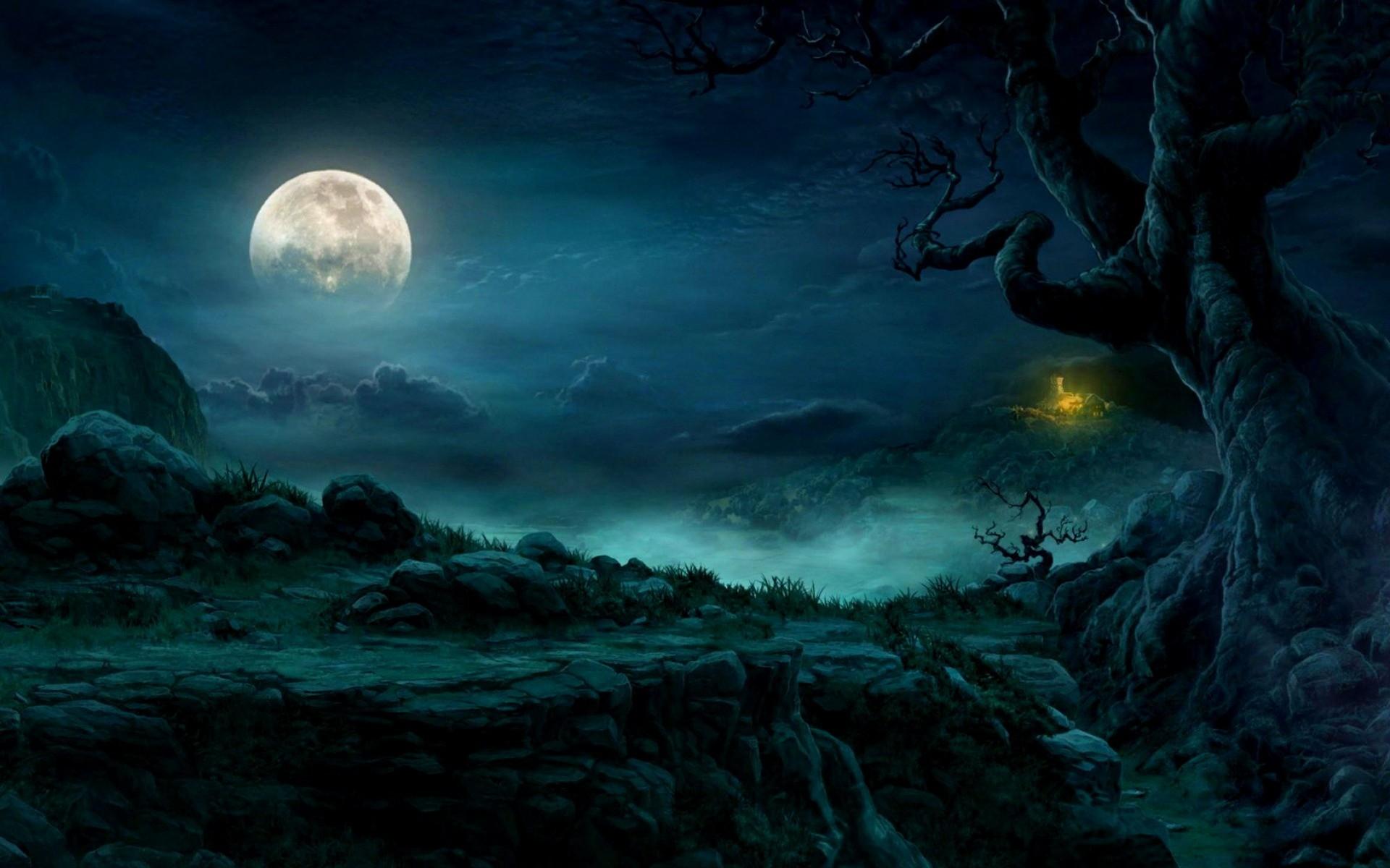 Ảnh mặt trăng nghệ thuật
