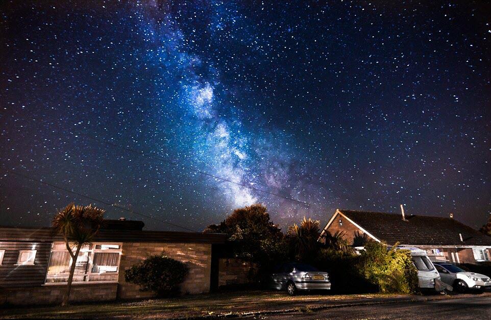 Ảnh nền bầu trời đêm đẹp nhất