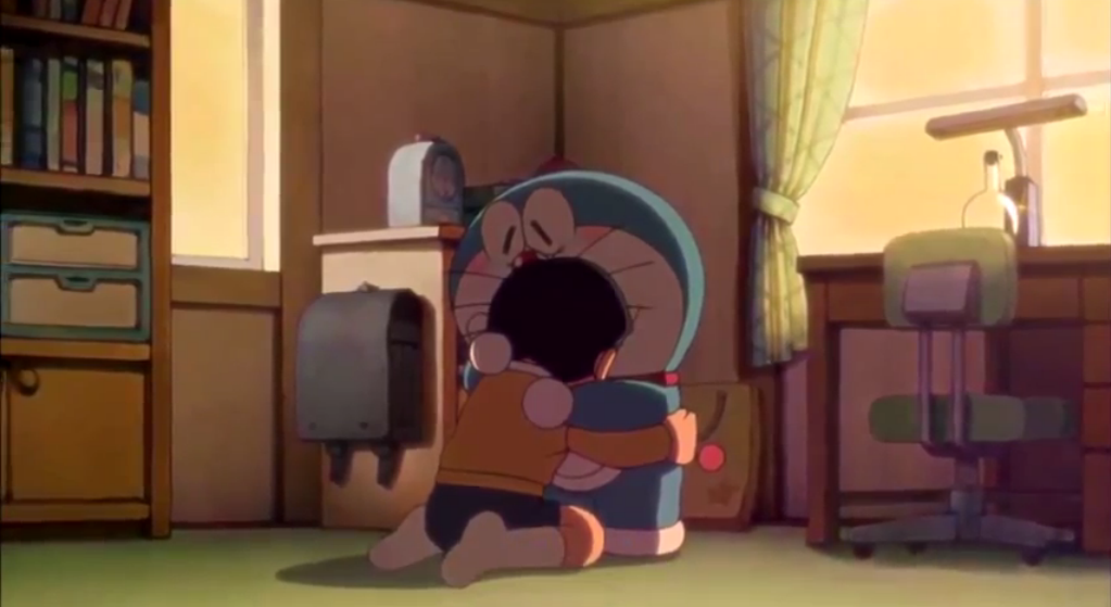 Ảnh Nobita buồn đẹp