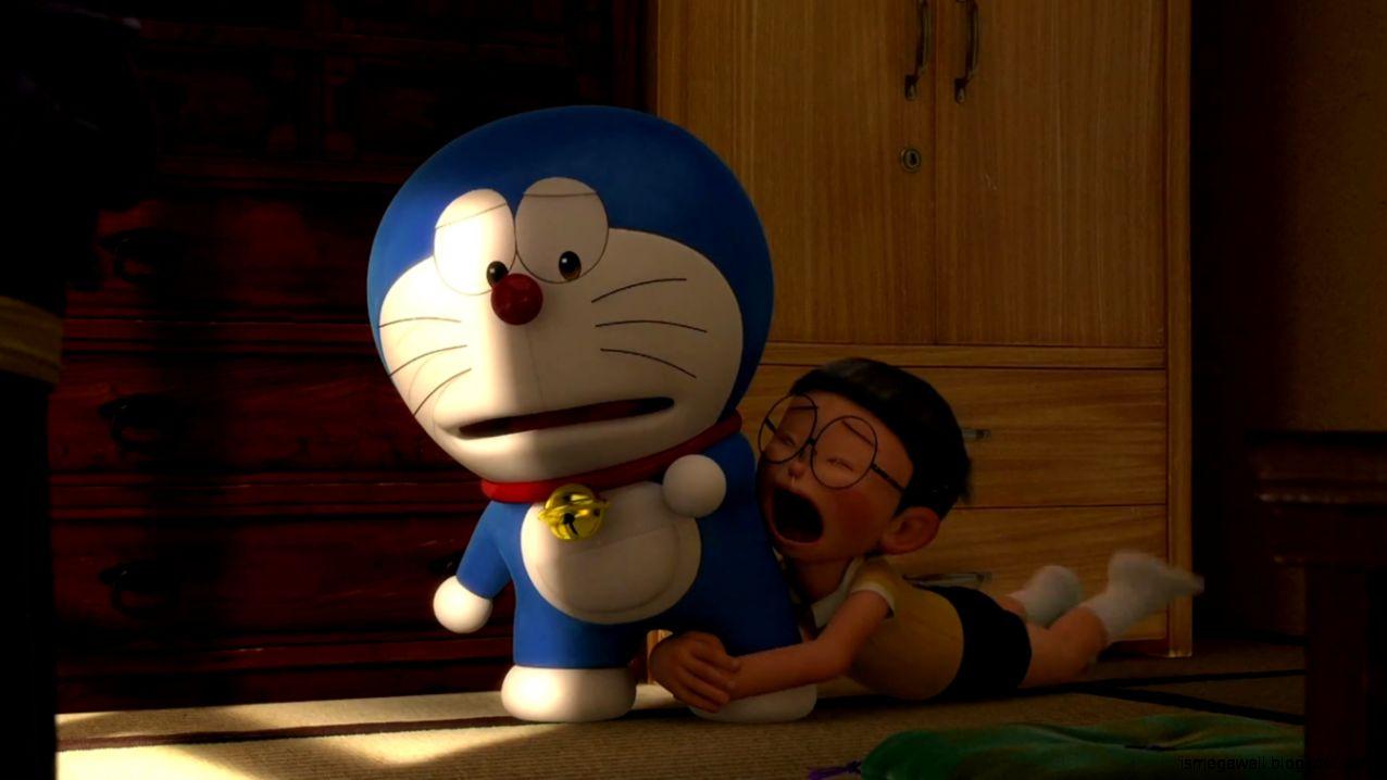 Ảnh Nobita buồn khóc 3D