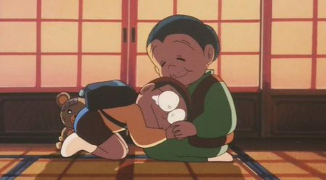 Ảnh Nobita và bà nội buồn cảm động nhất