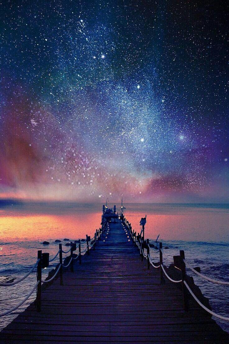 Ảnh thiên hà buổi đêm tuyệt đẹp