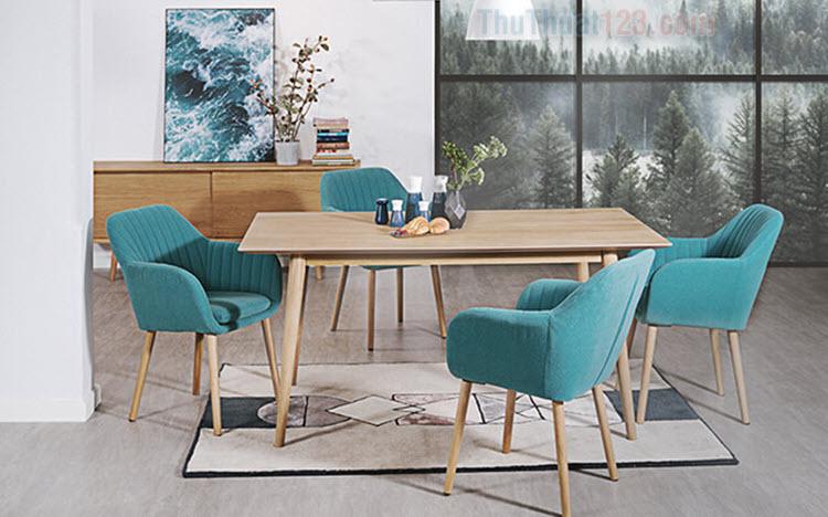 Bộ bàn ghế ăn đơn giản, đẹp nhất