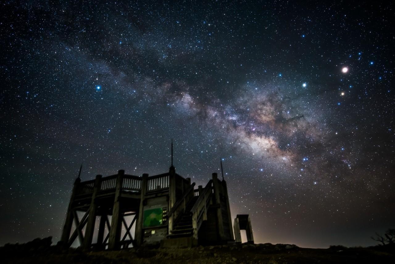 Hình ảnh bầu trời buổi đêm
