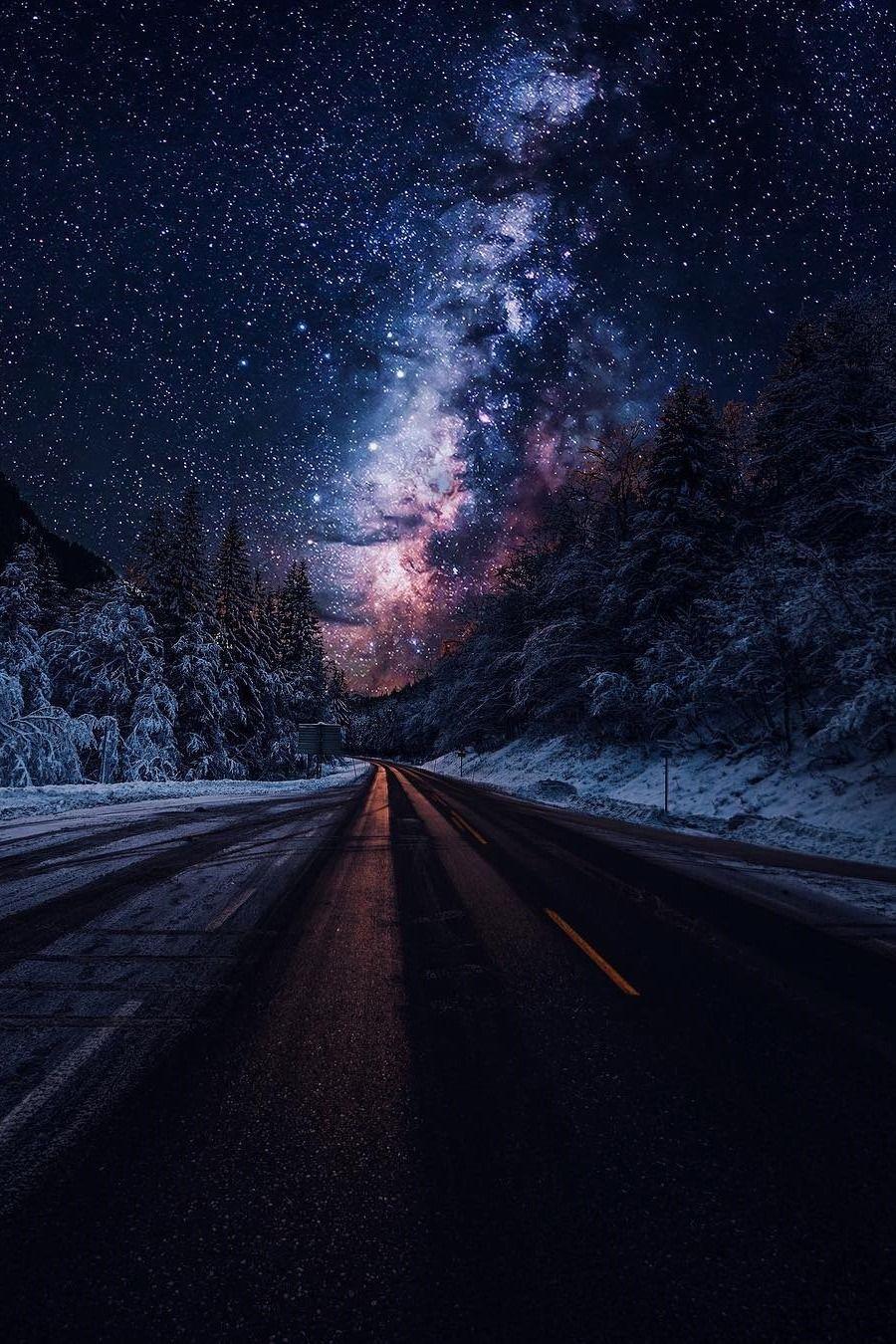 Hình ảnh bầu trời đêm tuyệt đẹp