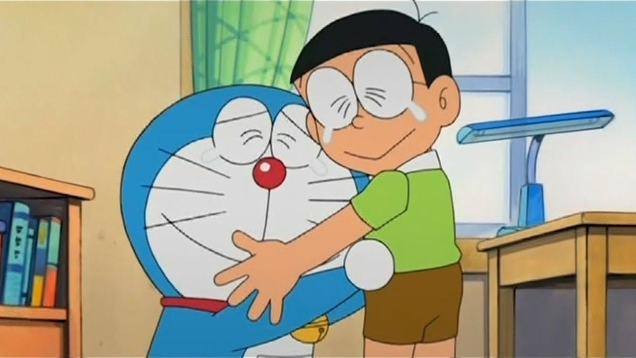 Hình ảnh Nobita buồn đẹp nhất