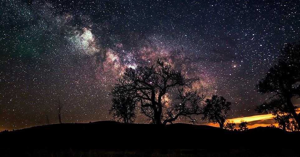Hình dải ngân hà đẹp
