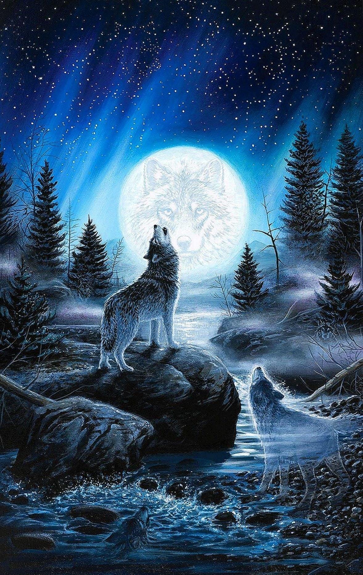 Hình mặt trăng đẹp, độc đáo