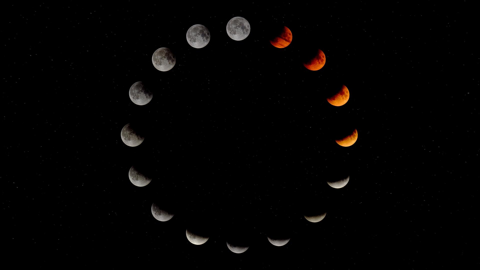Hình mặt trăng nghệ thuật đẹp nhất