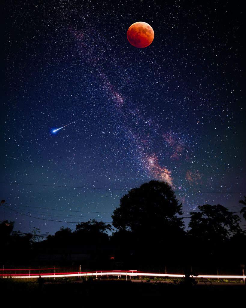 Hình nền bầu trời đêm tuyệt đẹp cho điện thoại