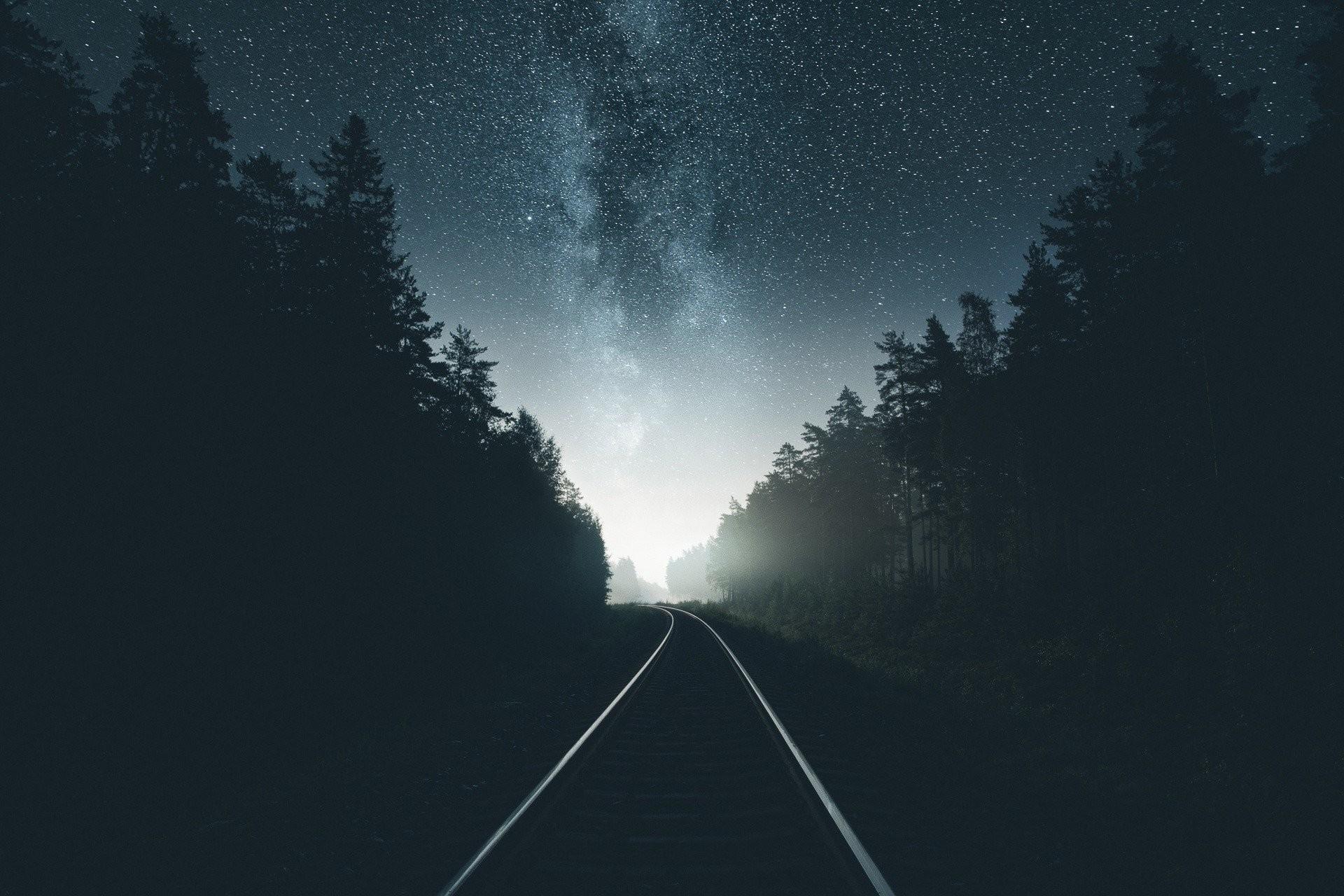 Hình nền bầu trời đêm tuyệt đẹp