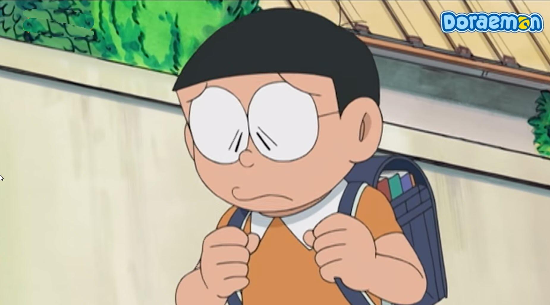 Hình Nobita buồn đẹp